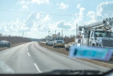Keys Weekly photographer documents Bahamas plight - A truck that is driving down the road - Car