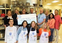 Coral Shores culinary teacher secures $50,000 grant for kitchen remodel