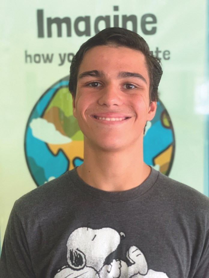 UPPER KEYS WEEKLY MALE AND FEMALE ATHLETE OF THE WEEK — OCT. 3 - A person smiling for the camera - T-shirt