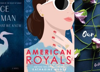 Booktoberfest: Enjoy some of these books this fall - A close up of text on a black surface - American Royals