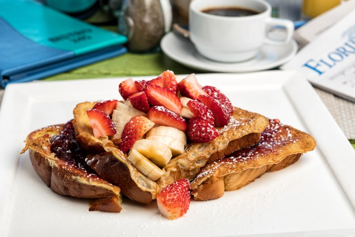 Brunch Perfection at Bistro 245 – Waterfront Landmark Owns Sunday - A plate of food on a table - French toast