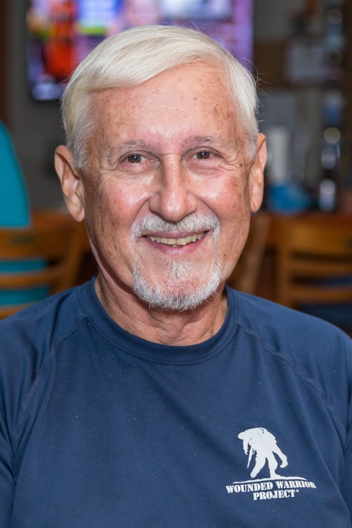 Keys Weekly honors local veterans - A smiling man in a blue shirt - Beard