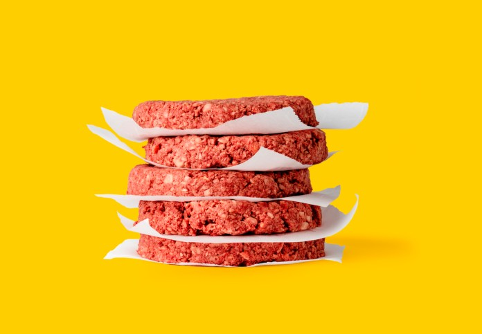 Not Your Mother's Veggie Burger – Meatless burger drives profits, aims to curb climate change and deforestation - A close up of a flower - Hamburger