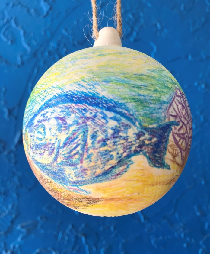 DIVE DEEP – Ornament decorating to see 50 artists - Marine biology