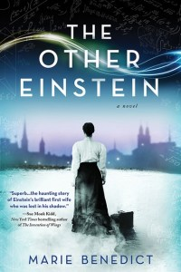 Women making a difference – The under-told stories of the 3 courageous women - A man holding a sign - The Other Einstein: A Novel