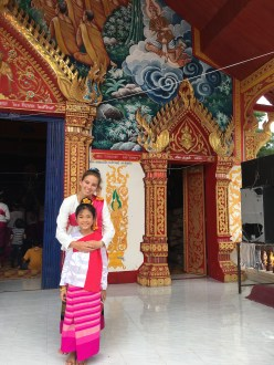 Caroline Althouse of Coral Shores High School immersed herself in Thailand, where she explored ancient temples. Contributed photo