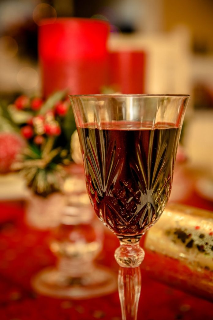 Wine and holiday cookie pairings - A close up of a wine glass - Wine glass