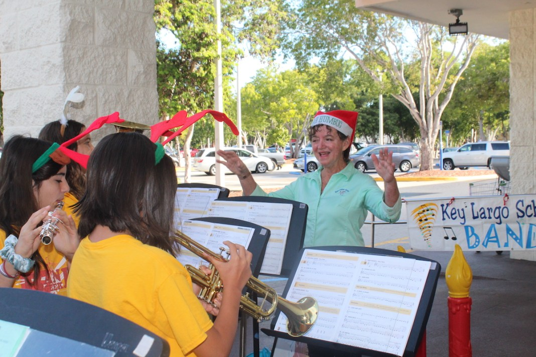 Susan Bazin has enjoyed her job at Key Largo School and its students for two decades. HOLLY HOUSER/Keys Weekly