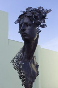 Learn about how to travel to Cuba at Marathon Library talk - A statue of a person - Statue