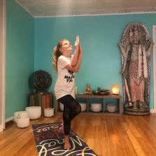 Mattie Sue, 10, will lead a virtual yoga class for kids to teach deep breathing, self-awareness and basic yoga poses. The class will happen at 2:30pm on May 19. KEY LARGO YOGA/Contributed