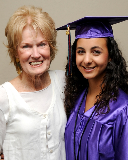 Pictured is a graduate from the 2008 Take Stock in Children program, Lianette Cordova with her mentor Linda Sue Rysman