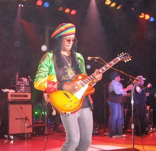 Jr Marvin the original Wailers Live