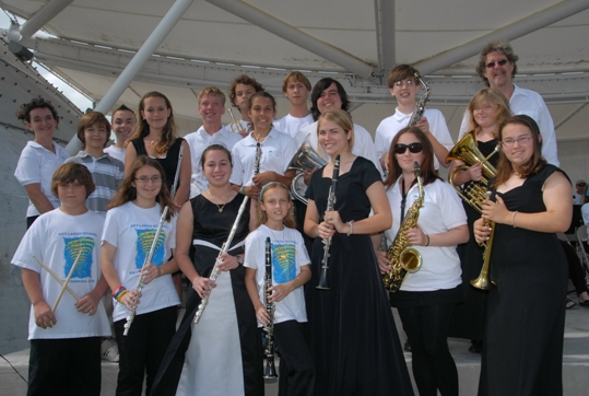 Upper Keys students received the Young Musicians Award