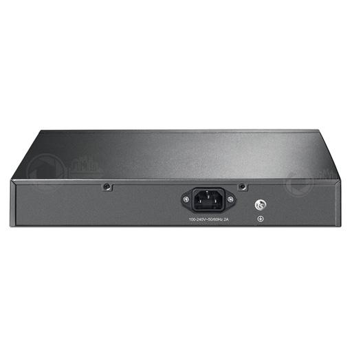 TP-Link TL-SG1008PE 8 poorts POE+ gigabit switch back
