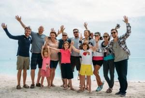 Photo of the Key West Baha'is celebrating naw-ruz