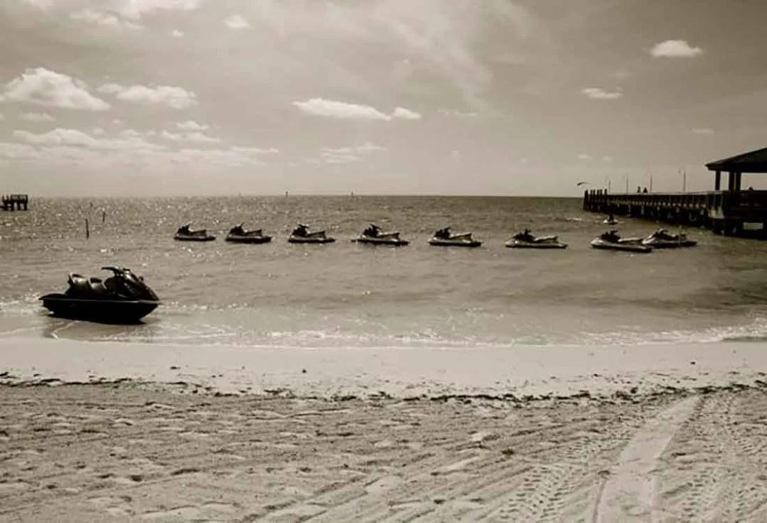Jet ski Key West 2