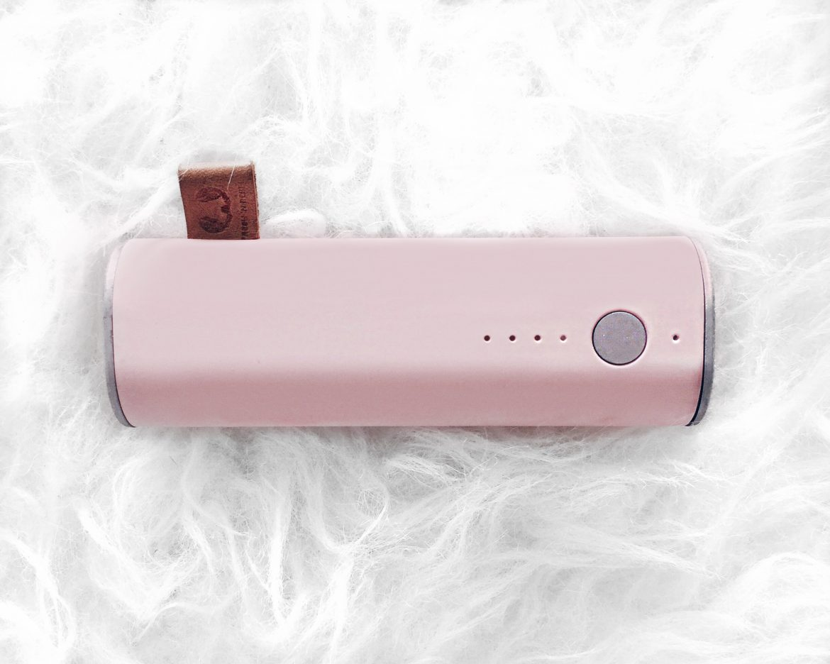 Powerbank rosa pastel fresh n rebel