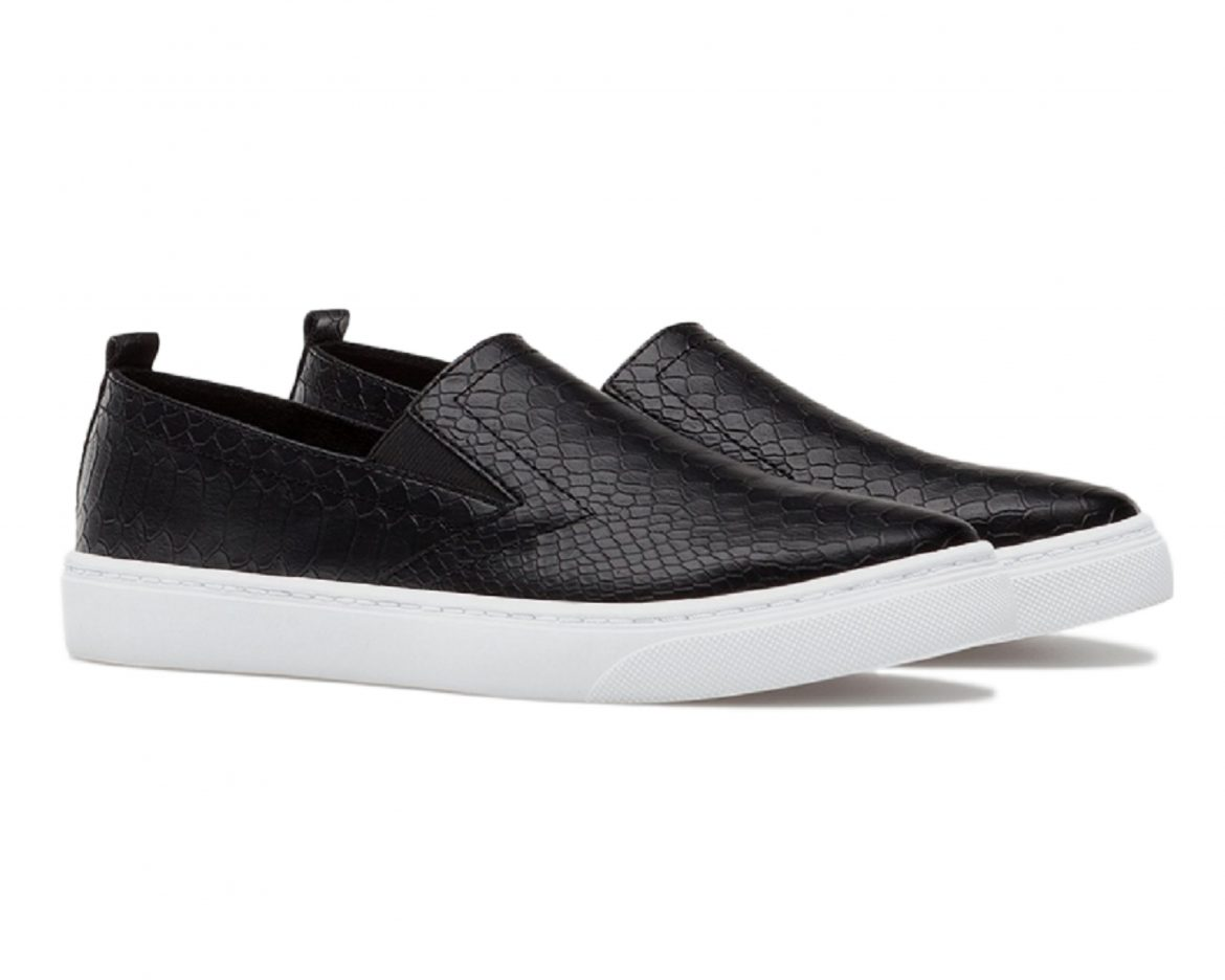 Stradivarius SLIP-ONS WITH ANIMAL PRINT