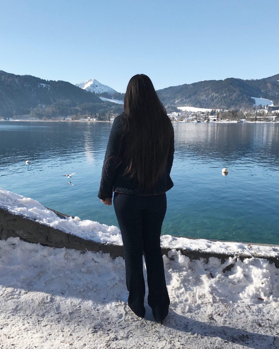 alemanha no inverno vista de costas