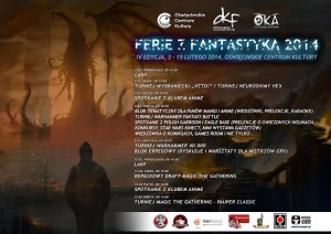 Ferie z fantastyką - plakat