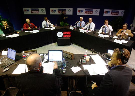 NPR Democratic candidatesdebate