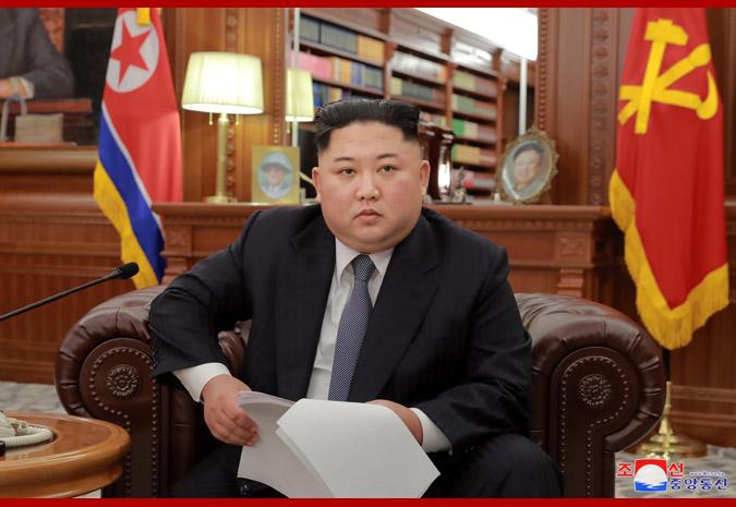 Resumen del discurso del año nuevo Juche 108 (2019) del Mariscal KIM JONG UN