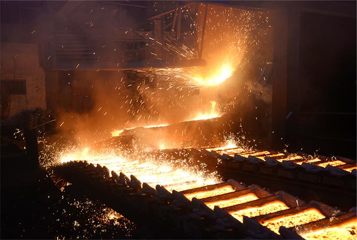 Fundición de hierro y acero en su desarrollo técnico