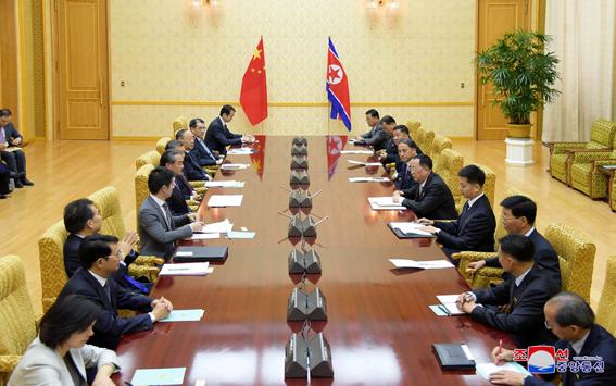 Visita del ministro de relaciones extranjeras de la República Popular China