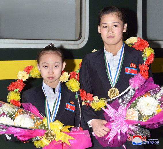 Campeonato asiático de gimnasia.