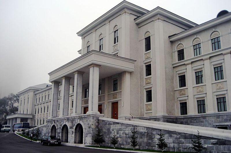 Ampliación de la universidad  KIM IL SUNG