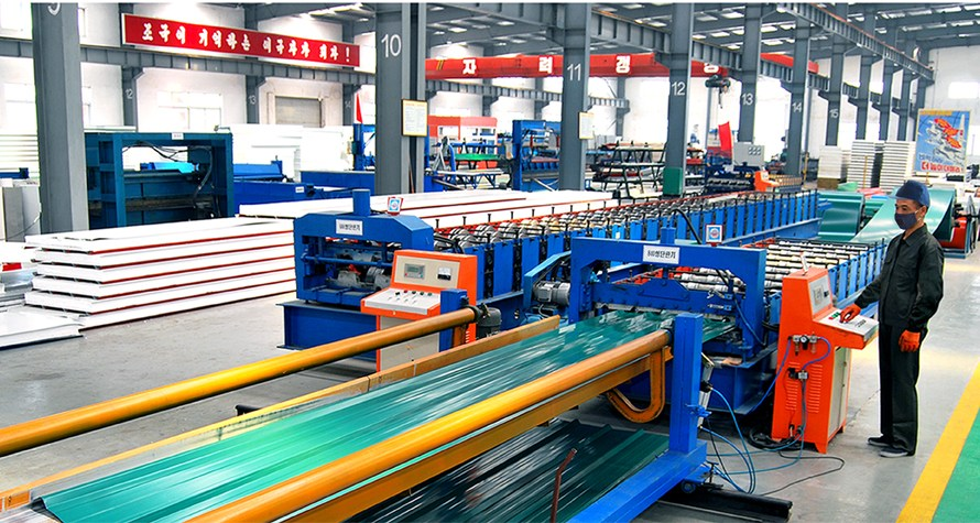 Fábrica de construcción Chollima