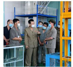 Primer ministro visita fundición de hierro.