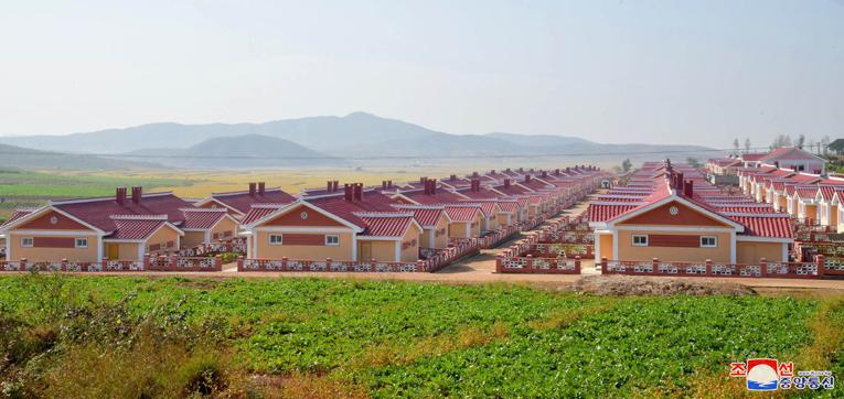 Nuevas viviendas en Sunan.