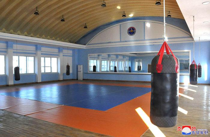 Nuevo centro de taekwondo.
