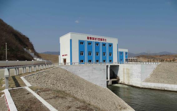 Nuevas construcciones en Hamgyong del Sur