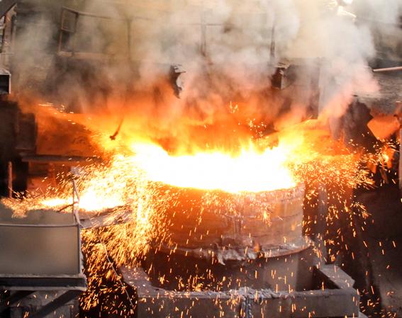 Éxitos en la industria metalúrgica en la Batalla de los 80 días