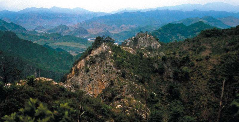 Talhaesansong, monumento natural de Corea.