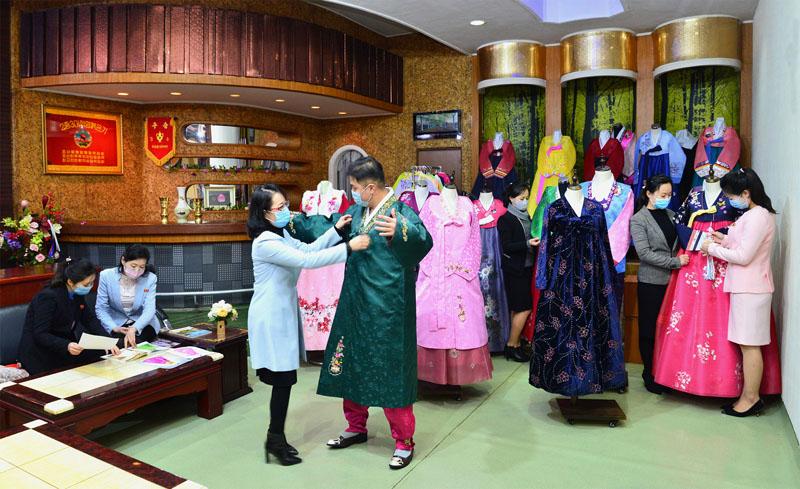 Mantenimiento del vestido tradicional coreano