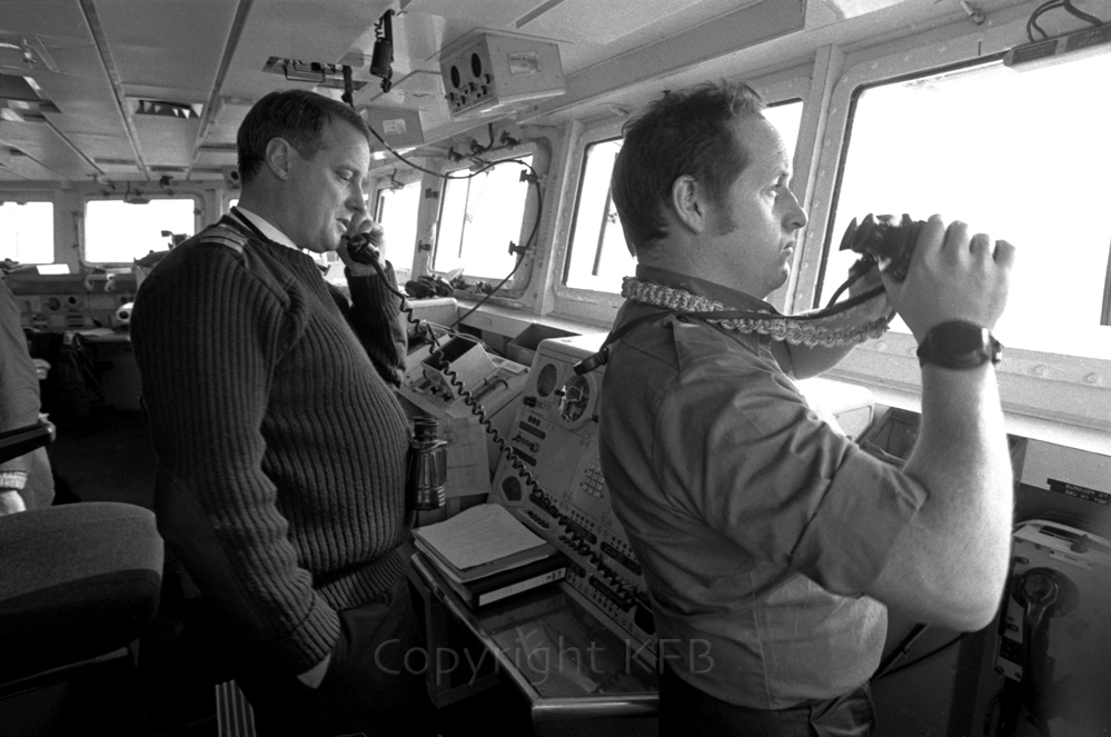honored I was allowed onto the Bridge of the Ark Royal