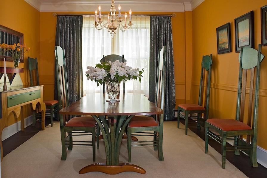 Historic Hartford Remodel Dining Room