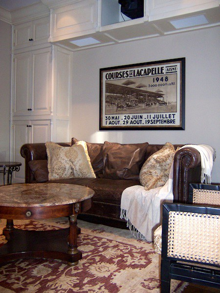 Manhattan Townhouse Den