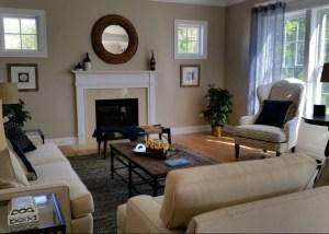 Simsbury Home Living Room 1