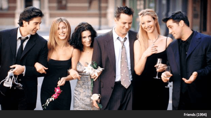 Screenshot from Friends