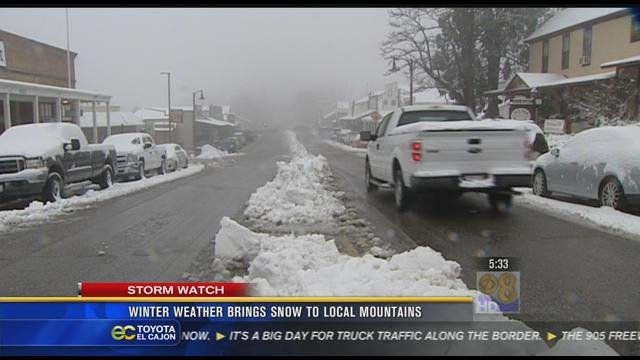 Weather California Winter 2012