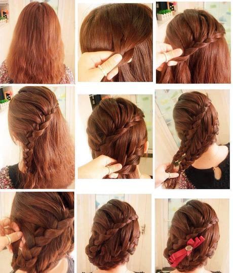 6 Easy Hair Style  for Girls Fashion Style  Photos