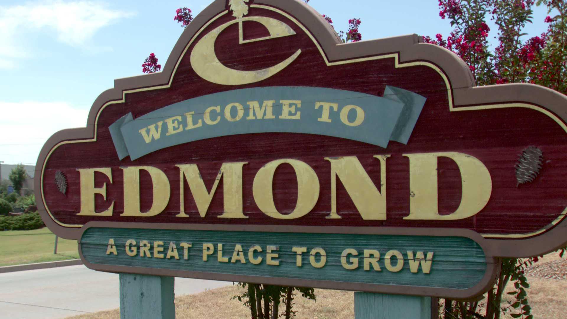 City of Edmond sign
