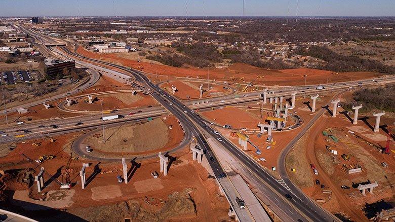 I-235, I-44, Construction, Broadway Extension