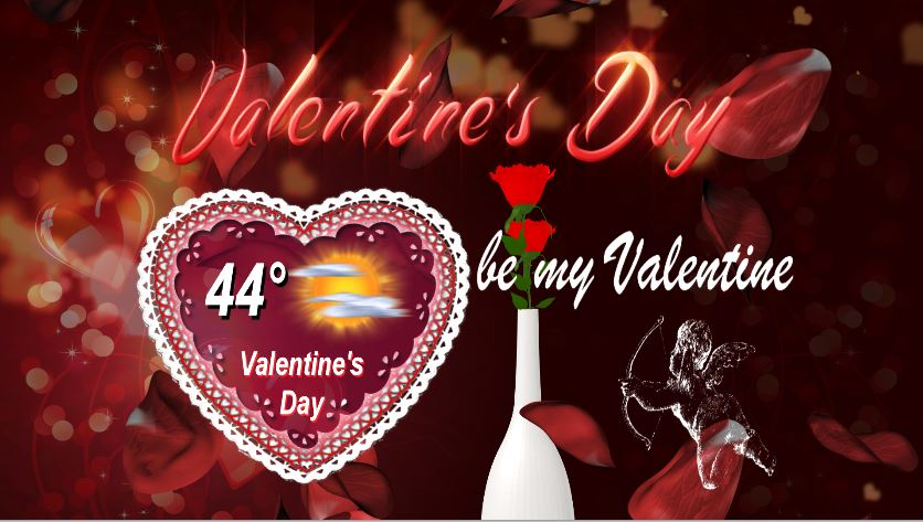 Valentine's Forecast