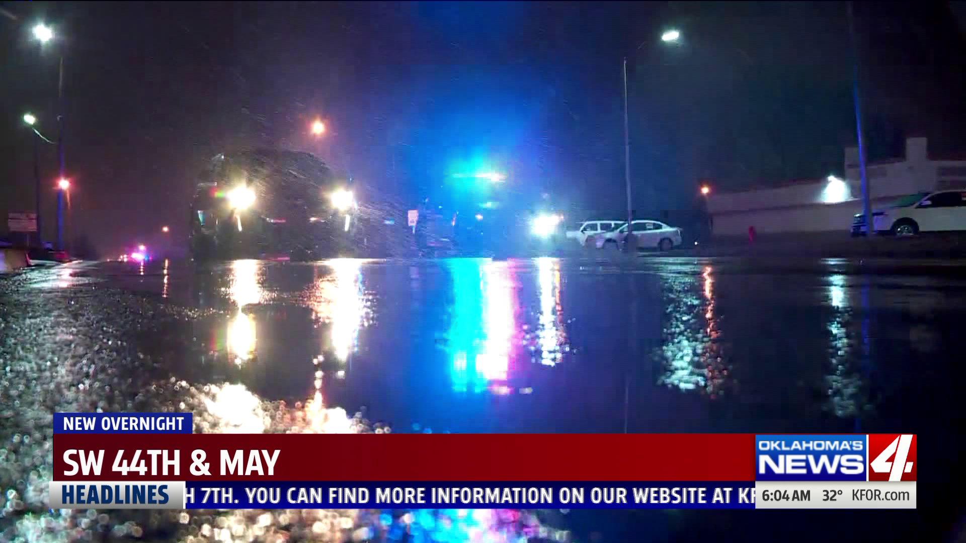 Deadly accident near SW 44th and May