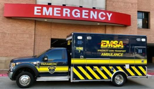 EMSA and INTEGRIS' ECMO unit